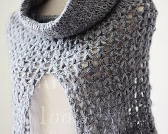 Crochet PATTERN - Ladies Cowl - Poncho (English only)