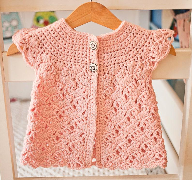 Crochet Pattern Zaras Sleeveless Cardigan Sizes Etsy