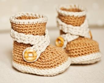 Crochet PATTERN - Criss Cross Strap Boots