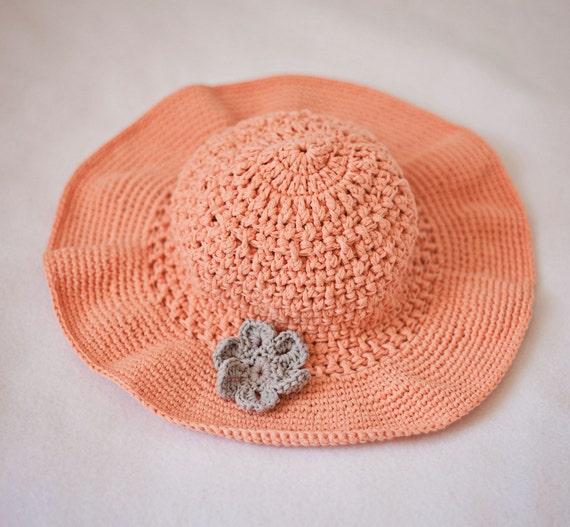 Crochet Hat Pattern Floppy Sun Hat Baby To Adult Etsy