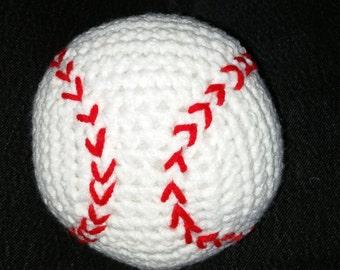 Crocheted Baseball