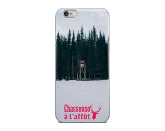 iPhone Case | Chasseuse à l'affût