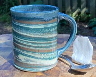 Swirled Chattered Mug
