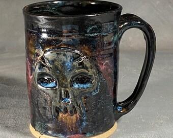 Magic the Gathering Inspired Skull Tankard Mug
