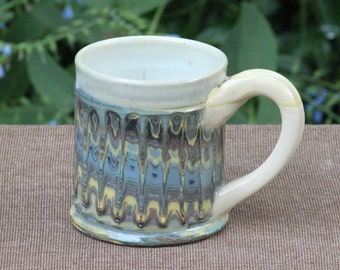Swirled Faceted Mugs