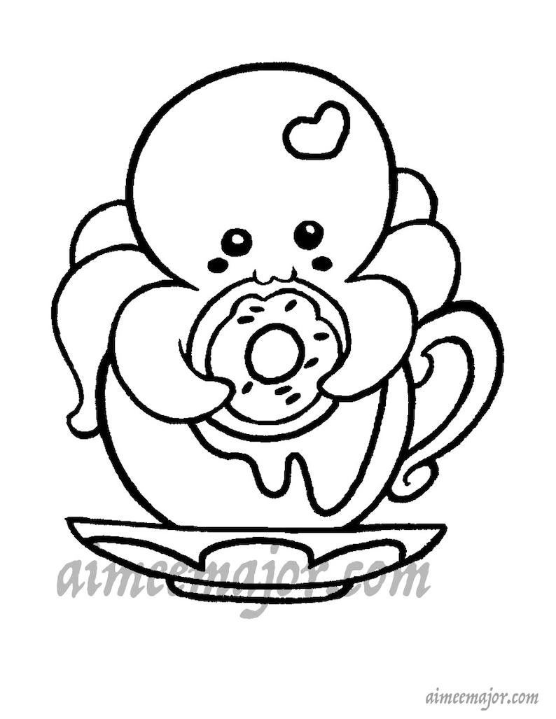 Disegno Da Colorare Polpo Cat 29324