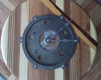 Gear Head Clock #4