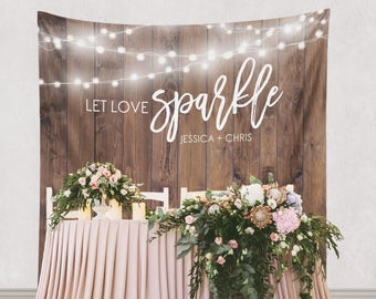 Wedding Ceremony Backdrop, Wedding Ceremony Photo Booth Backdrop, Wedding Ceremony Decor /W-G22-TP MAR1 AA3