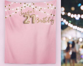 21st Birthday Decorations Banner Finally 21 Decor For Her H T24 TP MAR1 AA3