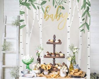 Twinkle Twinkle Little Star Baby Shower Backdrop Etsy
