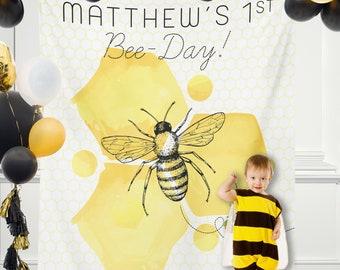 Bee Backdrop Etsy