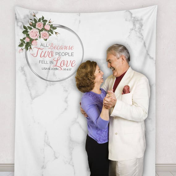 Australian Wedding Anniversary Gifts By Year: Wedding Anniversary Backdrop Custom We Still Do Vow