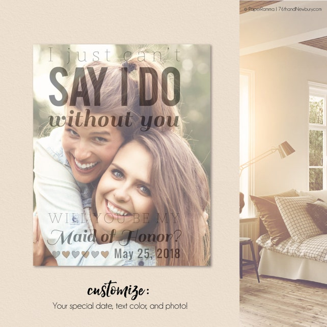 I Can't Say I Do Without You, I cant say I do without you gift, Cant say I do without you proposal, Print or Canvas // W-Q02-1PS AA9 OP12