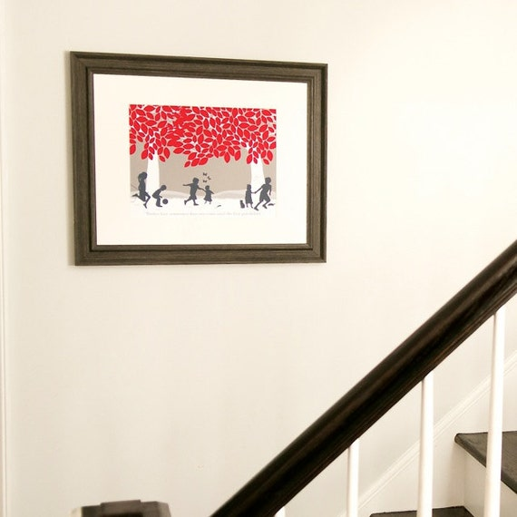 grandparent christmas present art print sentimental gift for etsy