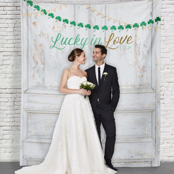 St Pattys Party Decor St Patricks Day Photo Booth Irish Wedding