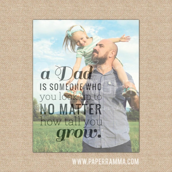 Dad Birthday Gift Fathers Day Photo Ideas