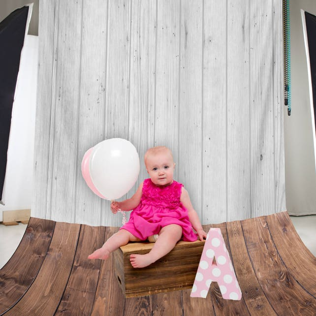 Baby Photo Props, Baby Photo Prop First Birthday, Photography Backdrop, Wood Backdrop / H-T29-TP MAR1
