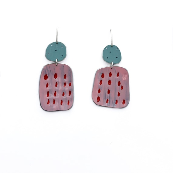 Happiness Earrings Pink