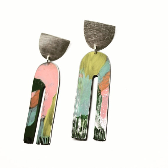 Matilda Pink Earrings
