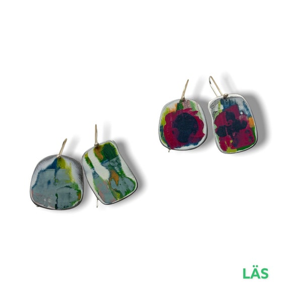 Palette happiness earrings