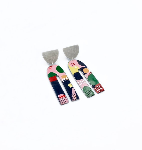 Ingrid's Garden Earrings