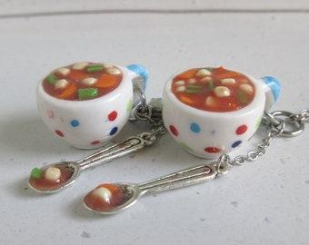 Miniature Dollhouse Tomato Teapot 1//12 178