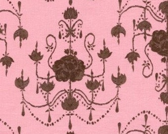 Sale Fabric Tina Givens Garden Chandelier in Ivory 1/2 Yard