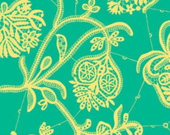 Amy Butler Fabric Souvenir in Mineral from the Lark Collection 1/2 Yard