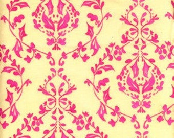 Sale Fabric Tina Givens Tree Top Fancy Cha Cha in Pink Fat Quarter