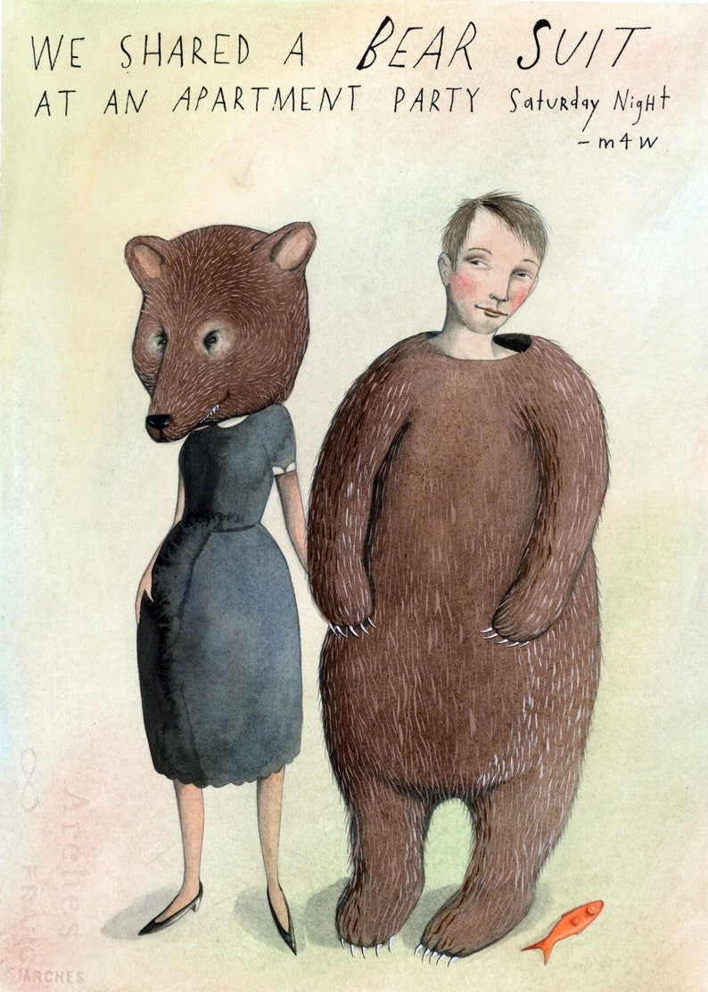 We Shared a Bear Suit image 0