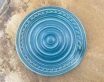 Spoon Rest in Antique Blue - Ceramic Stoneware Pottery