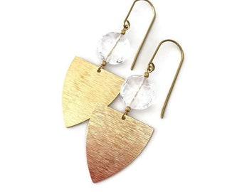 Dangle earrings, Trendy earrings, Modern earrings, Drop earrings, Golden jewelry, Modern jewelry, Drop Earrings, Free shipping