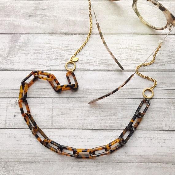 Eyeglasses chain, Chunky glasses chain, Eyewear chain, Big eyeglasses chain, Sunglasses chain, Eyewear chain, Big eyewear chain