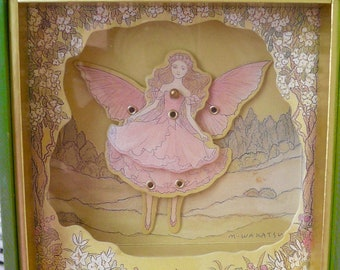 Vintage Music Box Pink Fairy Princess Dancing Plays Waltz of the Flowers by VintageReinvented