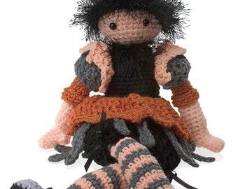 Crochet Favrielle Doll pattern pdf
