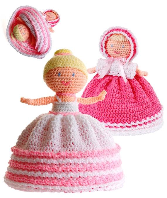 Topsy Turvy Doll Crochet Pattern from Gourmet Crochet