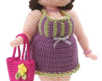 Crochet Suzette Doll pdf Pattern