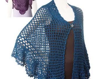 Hazel Shawl Crochet pdf Pattern