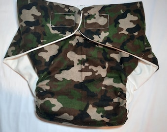 Adult Diaper - Camouflage - Size 2