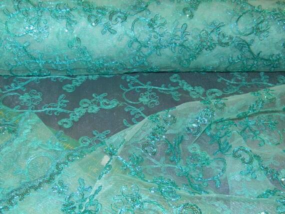 6441361734743d Plus de superbe embellie Occasion spéciale tissu abricot ou bleu sarcelle