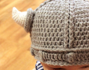 Crochet Pattern - Lael Viking Hat - All Sizes b29df0c8fa