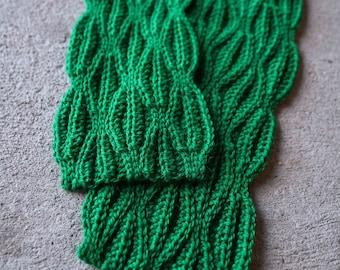 Crochet Scarf Pattern - Marjorie Scarf