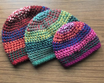 Crochet Pattern - Jordan Hat (5 sizes)