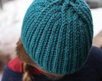 Crochet Hat Pattern - No Knits Beanie (all sizes)