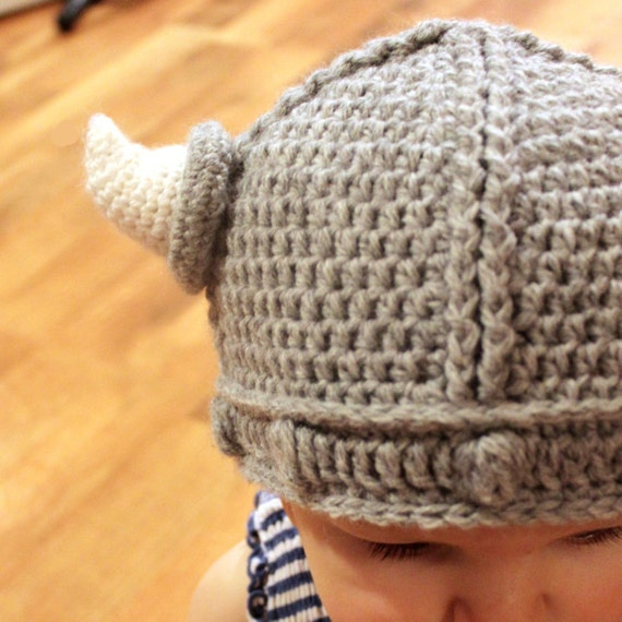 Crochet Pattern Lael Viking Hat All Sizes  96a2771c26b