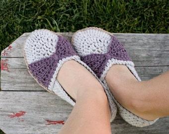 Instant Download - Crochet Pattern - The Jess Flats (woman sizes 3-12)