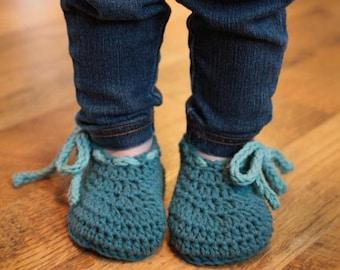 Crochet Pattern - Bodie Baby Booties (Newborn to 18 mo.)