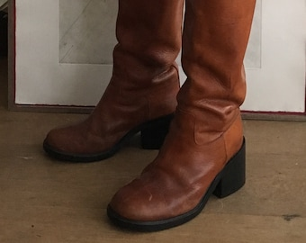 vintage a.f. Vandevorst riding boots