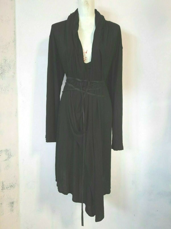 Ann demeulemeester hoodie dress vintage collectors