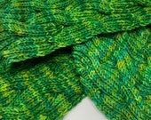 Cabled Reversible Scarf